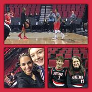 PEF night at the Trail Blazers!